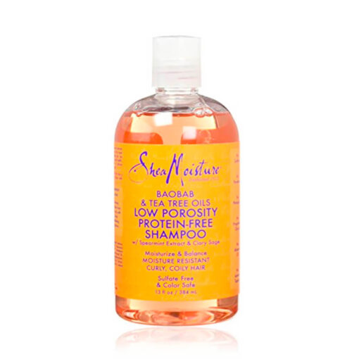 Shea Moisture – Baobab & Tea tree oils Low Porosity Protein-free Shampoo
