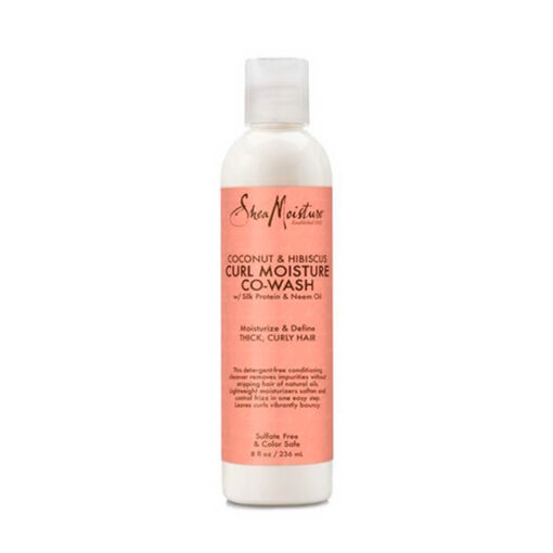 Shea Moisture – Coconut and Hibiscus Co-wash Conditioning Cleanser