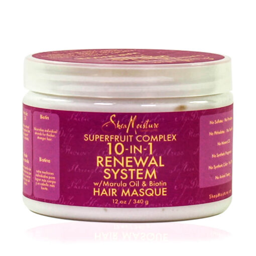 Shea Moisture – Superfruit Complex 10-in-1 Renewal System Hair Masque